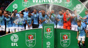 El triplete que buscará ganar el Manchester City esta temporada