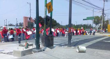 Agreden a manifestantes con palos y piedras en Iztapalapa; protestaban por inseguridad