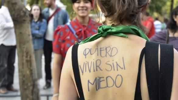 En imágenes: Los mensajes más impactantes de la marcha del Día de la Mujer en CDMX