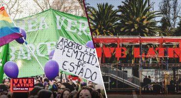 La Marea Verde por la legalización del aborto llega al Vive Latino 2019