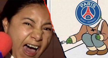 PSG se va eliminado de la Champions League con su maleta llena de memes