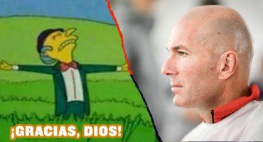 Zidane volvió al Real Madrid y los aficionados explotaron de alegría en Twitter