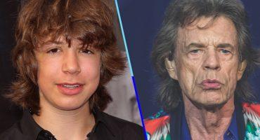 ¡¿Qué clase de brujería es esta?!  Captan a Lucas, el hijo de Mick Jagger, y es IDÉNTICO a él