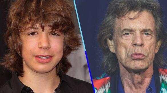 ¡¿Qué clase de brujería es esta?! Captan en París a Lucas, el hijo de Mick Jagger, y es IDÉNTICO a él