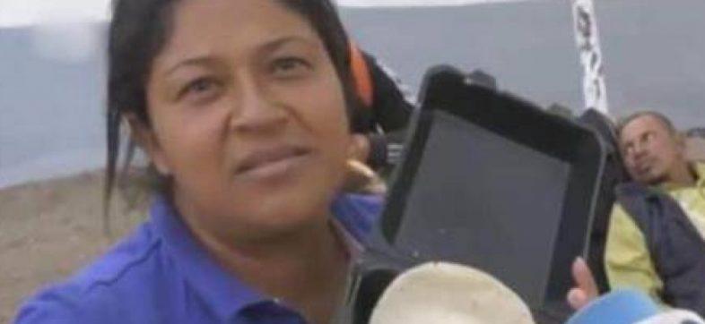 Por supuesto robo a mano armada, detienen en Dallas a la migrante hondureña que rechazó frijoles