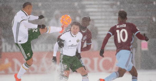 En imágenes, el partido más frío en la historia de la MLS… mientras tú te derrites de calor