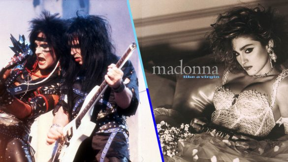 ¡Mala idea! Mötley Crüe coverea 'Like a Virgin' de Madonna para 'The Dirt'