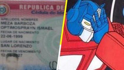 Optimus Prayn, Pelusa y Mafaldo, los nuevos nombres aprobados por un registro civil