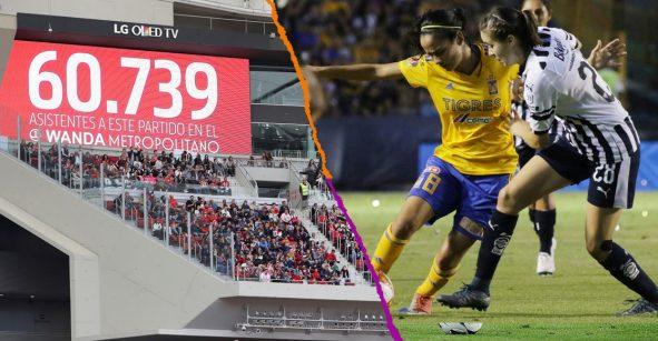 Nuevo récord de asistencia en el futbol femenil; 'Atleti' vs Barcelona superó la Final Regia