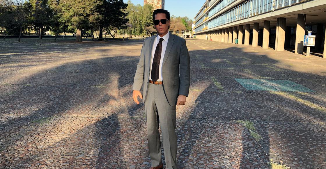 Roberto Palazuelos presume visita a la UNAM; revela que platicó con alumnos