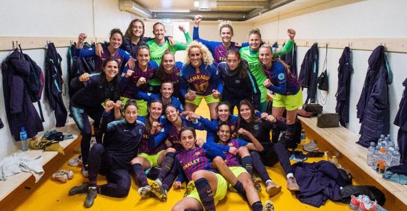 Mexicana, a semifinales de la Champions Femenil con el Barcelona y enfrentará al Bayern Munich