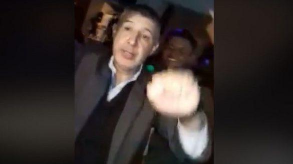 El señor que se hizo viral por beber y bailar Daddy Yankee