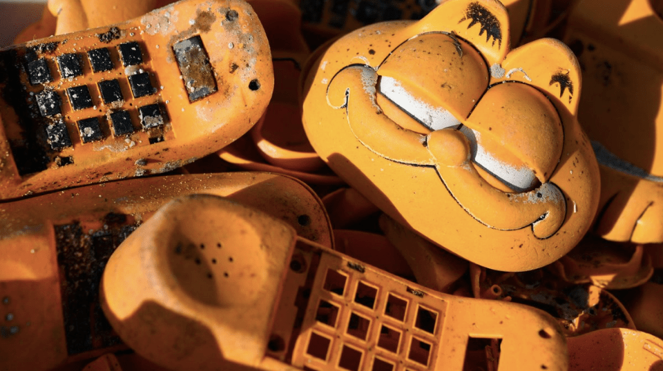 Resuelven el misterio de los teléfonos de Garfield en Francia