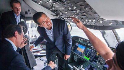 Party Hard: Peña Nieto y su comitiva bebieron 746 botellas de alcohol a bordo del avión presidencial