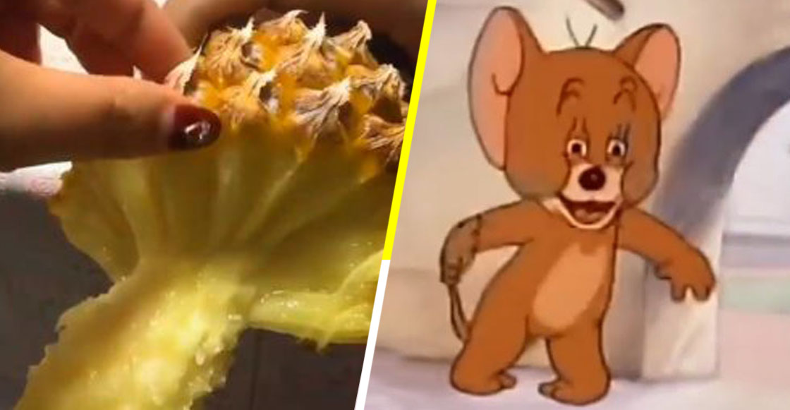 ¡Vivimos engañados! Acaban de revelar la manera correcta de comer piña y estamos en shock