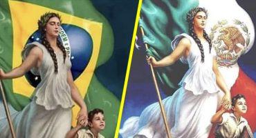 Acusan a Ministerio de Educación de Brasil de plagiar una pintura mexicana 😮