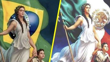 Acusan a Ministerio de Educación de Brasil de plagiar una pintura mexicana