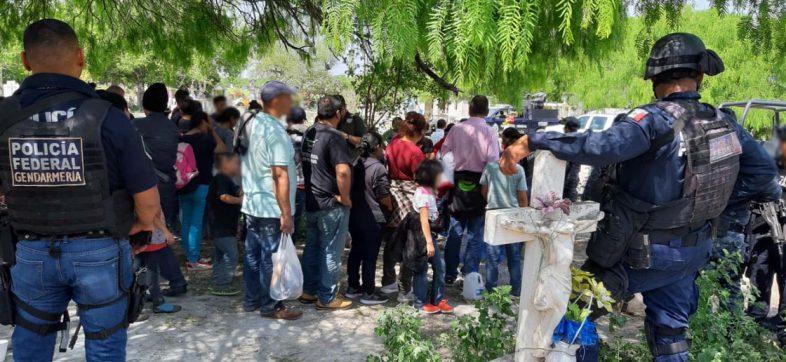 Tras enfrentamiento, Policía Federal rescata a 79 migrantes en Reynosa, Tamaulipas