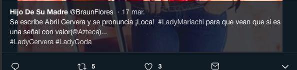 ¡WTF! Conductora de televisión se convierte en #LadyMariachi