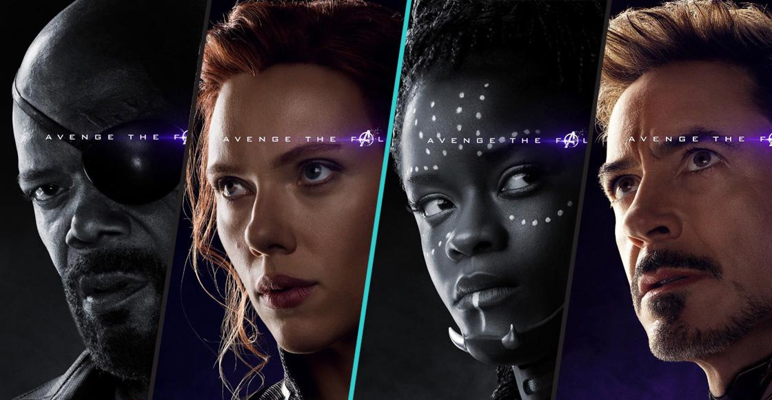 Estos son los pósteres de los héroes caídos y vivos de 'Avengers: Endgame'