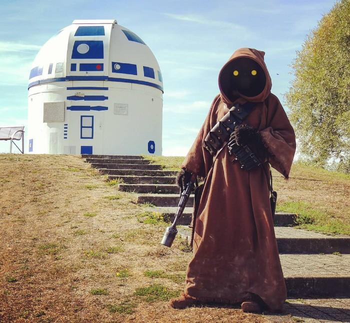 ¡Aww! Un observatorio alemán se convirtió en un R2-D2 gigante