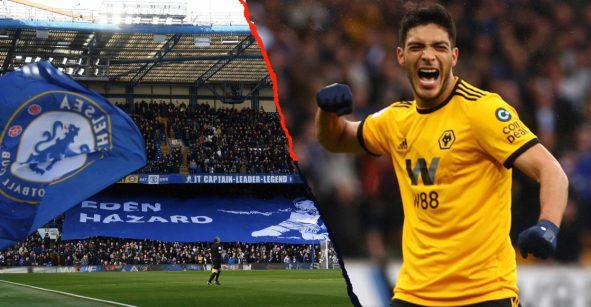 Raúl Jiménez le cumplió su sueño a aficionado del América en Stamford Bridge