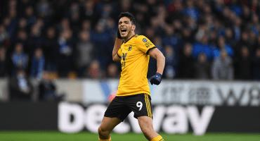 ¡Sábado de mexicanos! El gol de Raúl Jiménez al Manchester United en la FA Cup