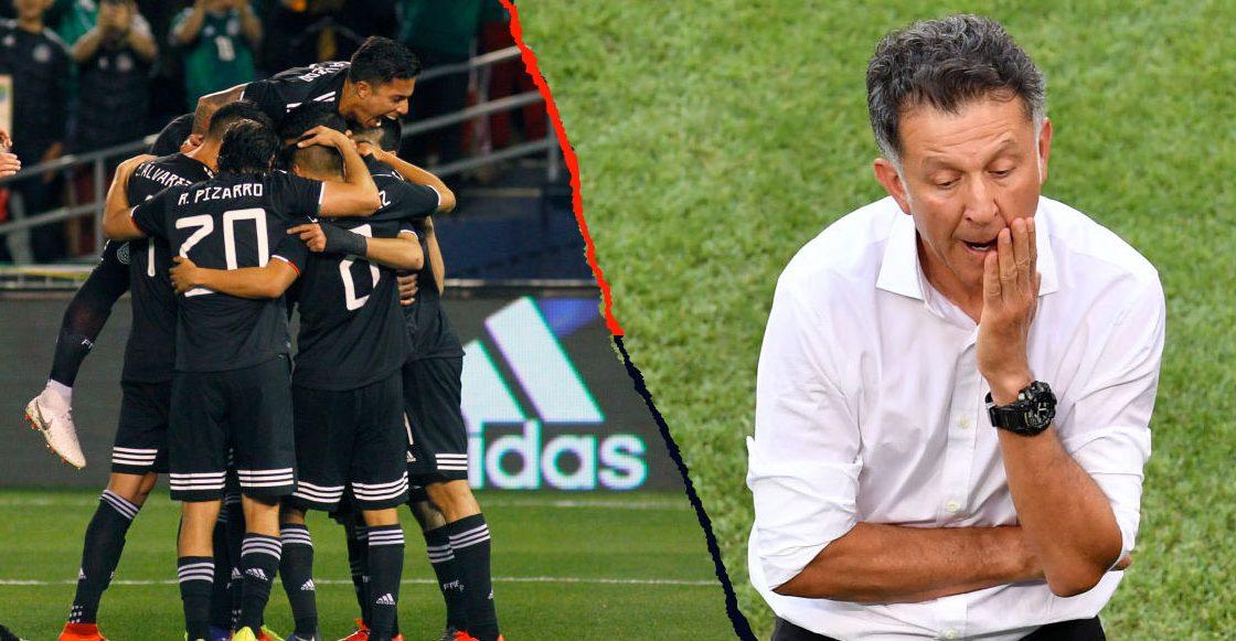 México nos dio cátedra de futbol: González