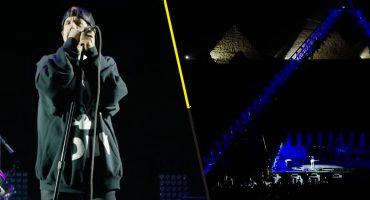 IMPRESIONANTE: ¡Así estuvo el concierto de los Red Hot Chili Peppers en las pirámides de Giza!