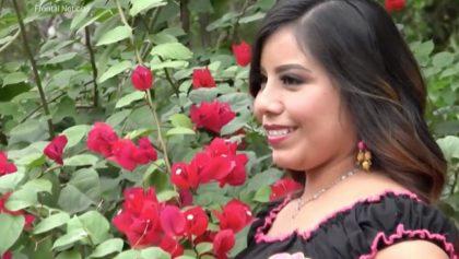 Ella es la joven de la etnia tének que será coronada reina de belleza en San Luis Potosí