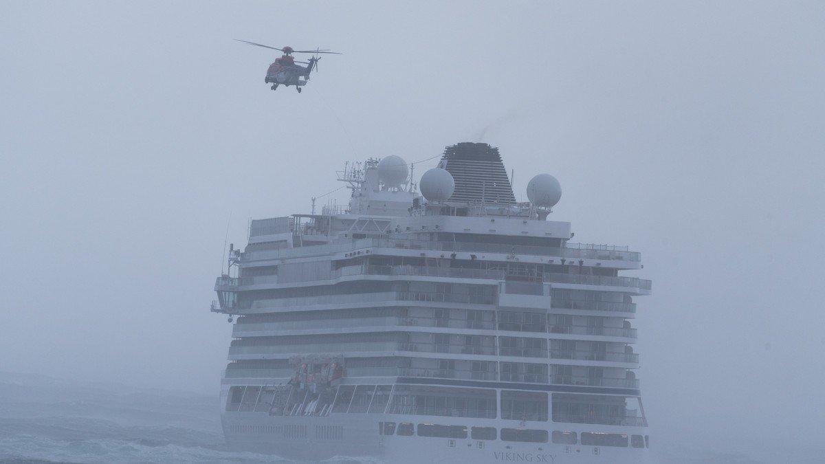 ¡El crucero del terror! En Noruega, un barco casi naufraga con 1, 300 personas a bordo 🛳