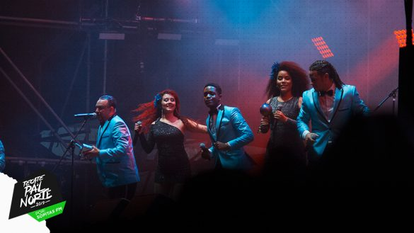 ¡La Sonora Dinamita convirtió en salón de baile el Pa'l Norte 2019!
