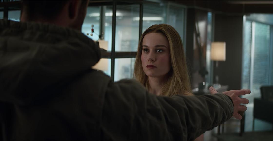 Resultado de imagen para thor y captain marvel trailer avengers