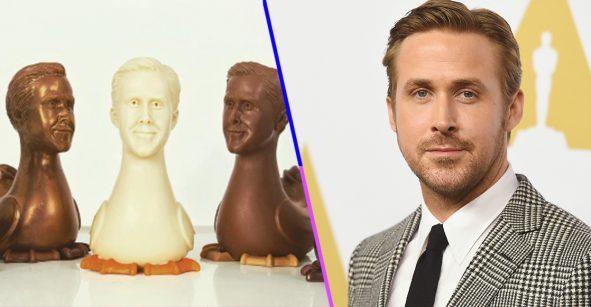 Alguien creó unos huevos de Pascua de Ryan Gosling y son hermosos
