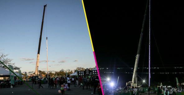WHAT?! Rompen récord de lavar una torre de platos más alta que la pirámide de Kukulkán