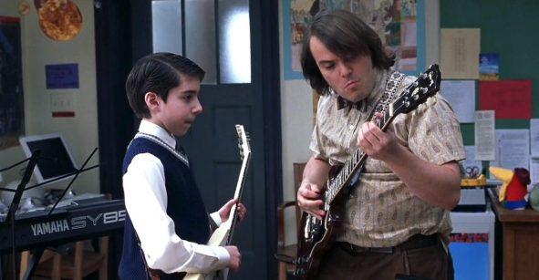 Y en la nota idiota del día: Actor de 'School of Rock' es arrestado por robar guitarras