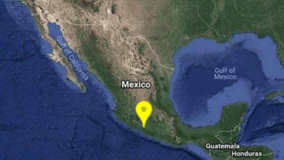 Se reporta sismo de 5.3 en Huetamo, Michoacán; se percibe en algunas partes de la CDMX