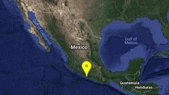 Se registra sismo de 5.1 en Tecpan, Guerrero; se percibe en la CDMX