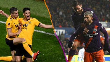 ¡Con todo, Raúl! Así se jugarán las semifinales de la FA Cup