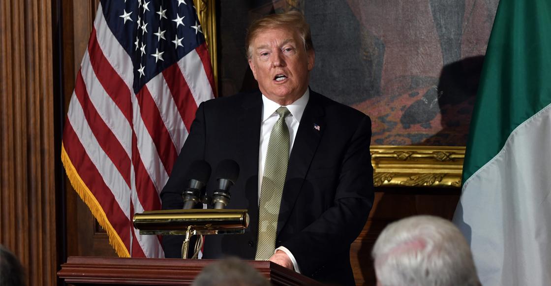 ¡Tsss! Senado aprueba vetar declaratoria de emergencia nacional de Trump para el muro