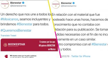 ¿Qué fue lo que pasó con el polémico tuit de la Secretaría del Bienestar?