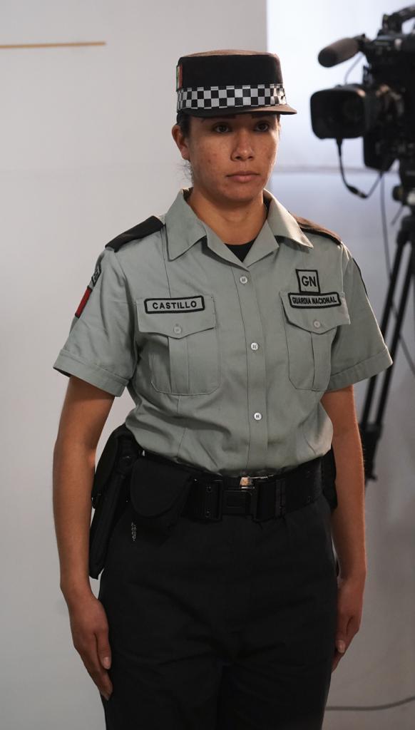 Uniformes de la Guardia Nacional