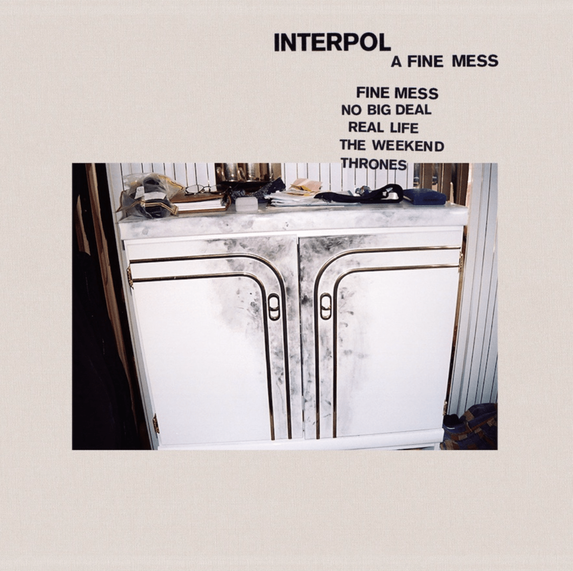 "¡Interpol anuncia EP y estrena la canción ""The Weekend""!"