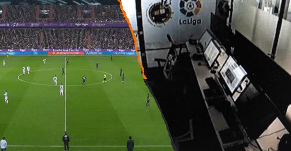 Las teorías del polémico VAR fantasma en el partido entre el Real Madrid y Valladolid
