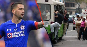 Mientras tú te quejas, Édgar Méndez presumió su viaje en el transporte público