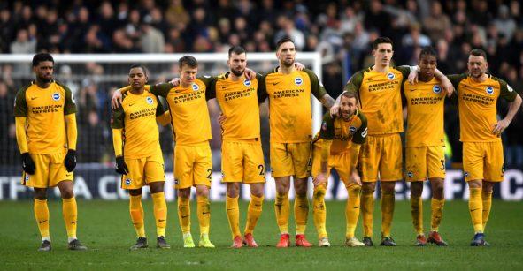 Tras un partido cardiaco, Brighton eliminó en penales al Millwall de la FA Cup