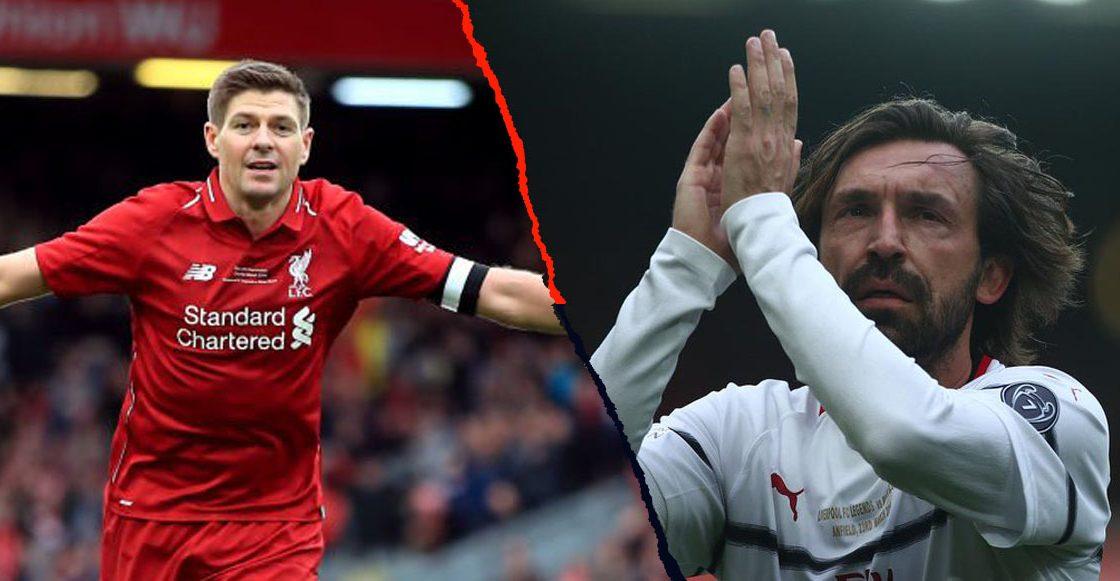 Duelo de leyendas y muchos goles en Anfield