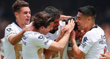 El festín de goles en CU que le dieron el triunfo a Pumas sobre las Chivas