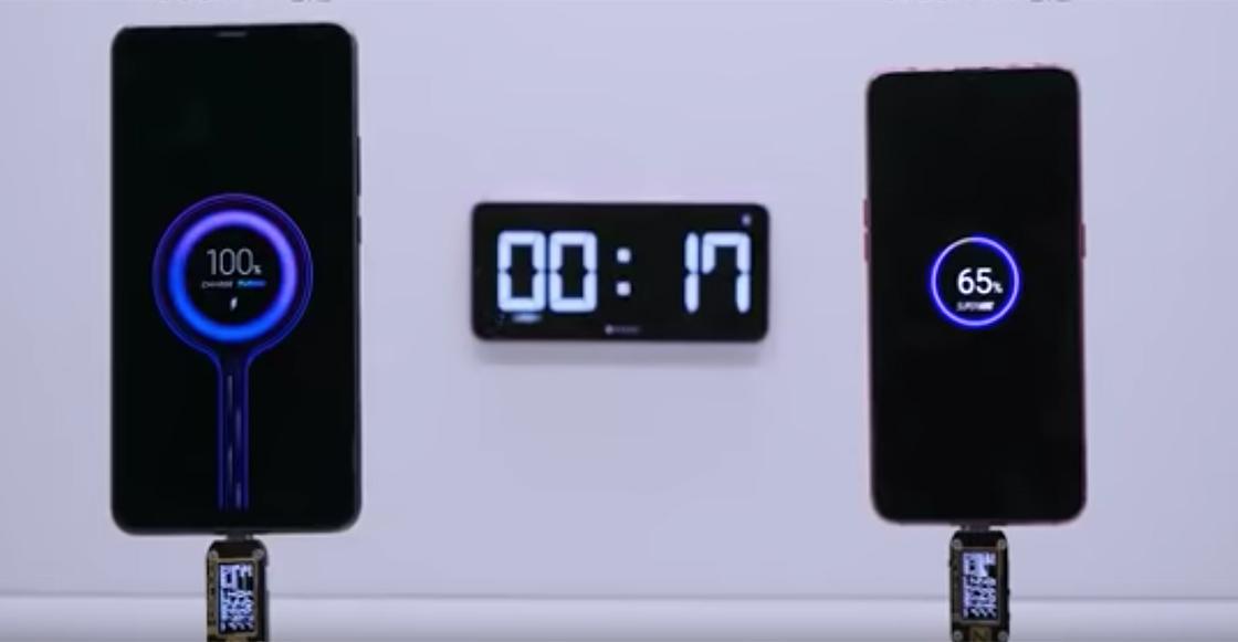 What?! El cargador Xiaomi puede llenar la batería de un smartphone en 17 minutos