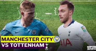 Premier League EN VIVO: Manchester City se juega la vida ante Tottenham